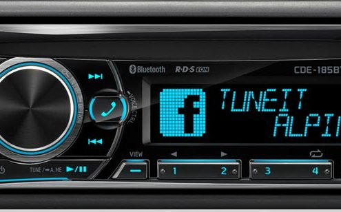 Autoradio Bluetoth Alpine CDE-185BT