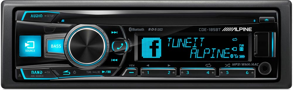 autoradio bluetooth alpine cde 185bt du lourd dans sa cat gorie. Black Bedroom Furniture Sets. Home Design Ideas