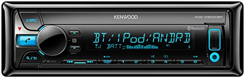 Kenwood KDC-X5000BT Autoradios Bluetooth, En Façade