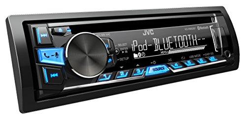 JVC KD-R862BTE Récepteur USB/CD avec technologie Bluetooth et A2DP inclus Noir