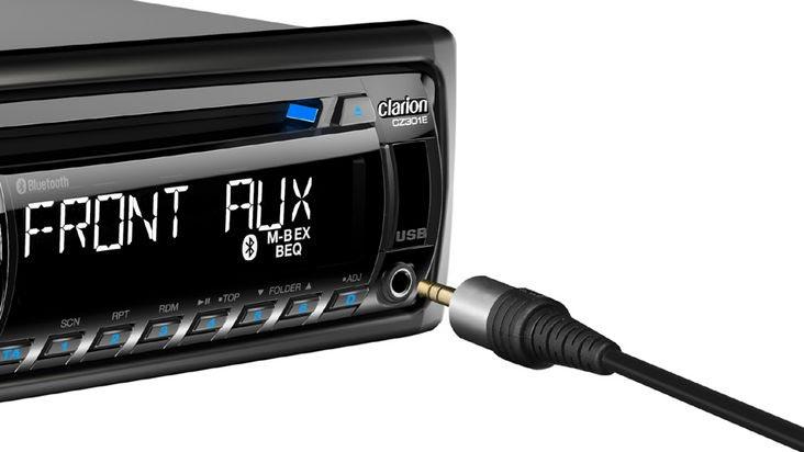 Autoradio Bluetooth jack en facade