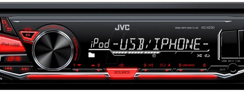 Autoradio JVC KD-X230