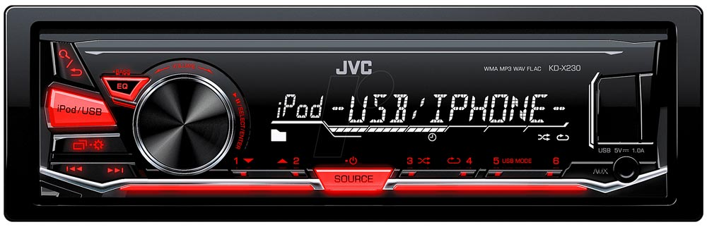 le poste radio mp3 jvc kd x230 enfin un autoradio pas cher. Black Bedroom Furniture Sets. Home Design Ideas
