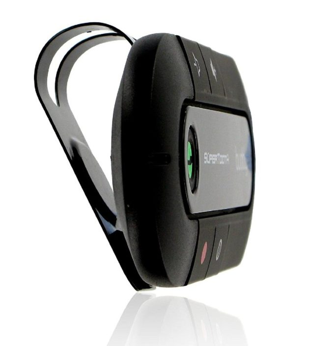 Kit Main Libre Bluetooth Pour Pare-Soleil Supertooth Buddy