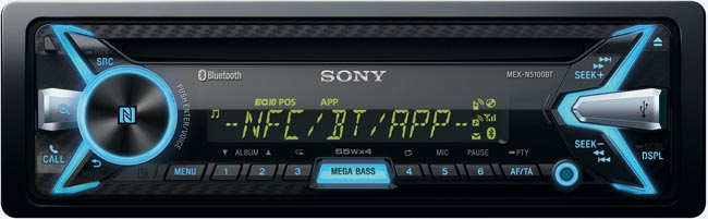 Autoradio Bluetooth Sony MEX-N5100BT