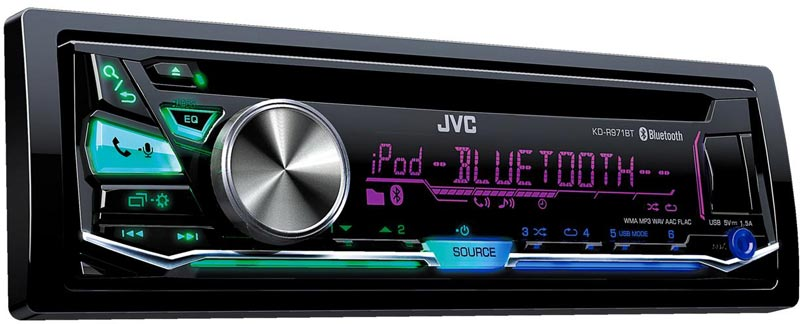 autoradio bluetooth jvc kd r971bte une coute optimale en voiture. Black Bedroom Furniture Sets. Home Design Ideas