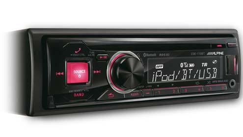 Autoradio Bluetooth Alpine CDE 173BT